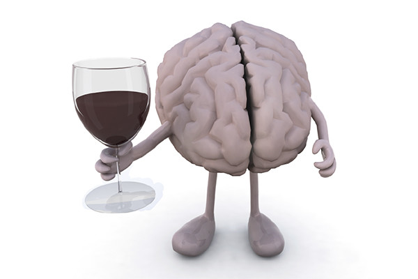 moderate alcohol consumption associated with memory loss and cognitive decline